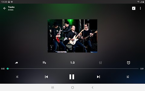 screenshot of Music Player version 2019.3.0