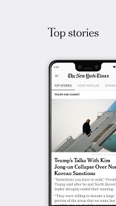 screenshot of NYTimes - Latest News version Varies with device