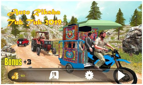 screenshot of New Auto TukTuk Rikhsha 2019 version 1.3