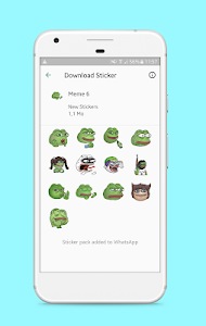 screenshot of Stickers for Whatsapp - WAStickerApps version 3.0