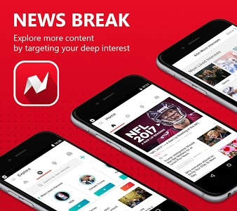 screenshot of News Break: Local & Breaking version 3.9.3