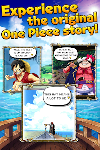 screenshot of ONE PIECE TREASURE CRUISE version 2.1.0