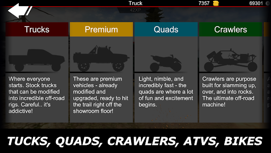 screenshot of Offroad Outlaws version 3.8.4