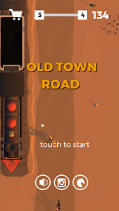 screenshot of Old Town Road version 2.5