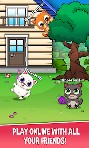 screenshot of Oliver the Virtual Cat version 1.32