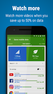 screenshot of Opera Max - Data manager version Varies with device