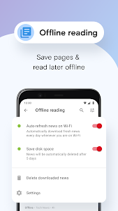 screenshot of Opera Mini - fast web browser version Varies with device