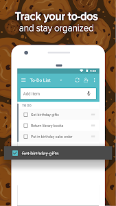 screenshot of Out of Milk - Grocery Shopping List version 8.11.0_903