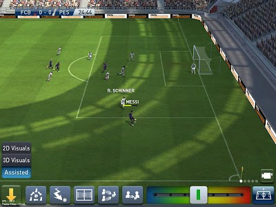 screenshot of PES CLUB MANAGER version 2.2.0