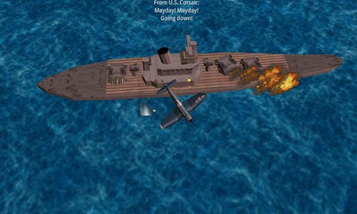 screenshot of Pacific Navy Fighter version 2.8.0