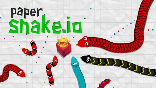 screenshot of Paper Snake.io version 1.2