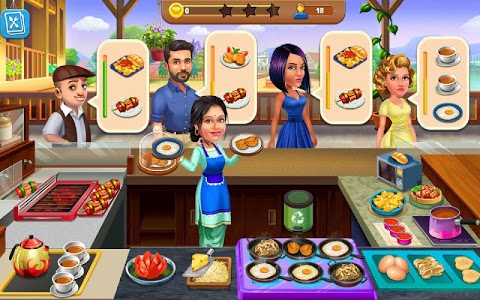 screenshot of Patiala Babes : Cooking Cafe - Restaurant Game version 2.5