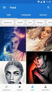 screenshot of Photo Lab Picture Editor: face effects, art frames version 3.7.22