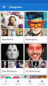screenshot of Photo Lab Picture Editor: face effects, art frames version 3.5.6