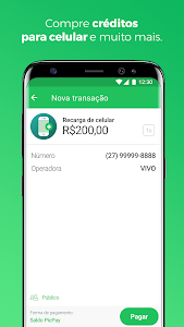 screenshot of PicPay - App de pagamentos version 10.9.8