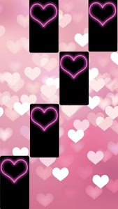 screenshot of Pink Piano Tiles 4 : Music Games 2018 version 1.7.5