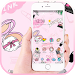Download Pinky Fashion Cosmetic Graffiti Theme 1.1.3 APK