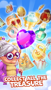 screenshot of Pirate Treasures - Gems Puzzle version Varies with device