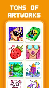 screenshot of Coloring Pop : Quick Color by Number version 4.34
