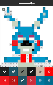 Download Pixel Art Coloring By Numbers For Fnaf 5 Apk