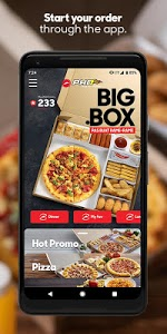 screenshot of Pizza Hut Delivery Indonesia version Varies with device