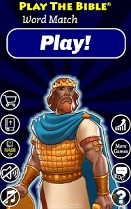 screenshot of Play The Bible Word Match version 1.02