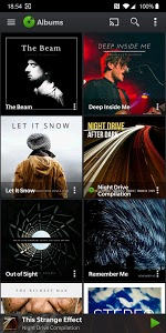 screenshot of PlayerPro Music Player (Free) version 5.8