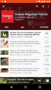 screenshot of Podcast Republic version Varies with device