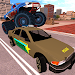 Police Car Vs Monster Truck Gangsters: Cop Chase