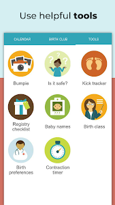 screenshot of Pregnancy Tracker + Countdown to Baby Due Date version Varies with device