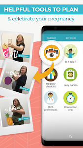 screenshot of Pregnancy Tracker & Countdown to Baby Due Date version Varies with device
