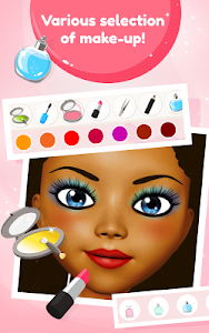 screenshot of Princess Hair & Makeup Salon version 1.21