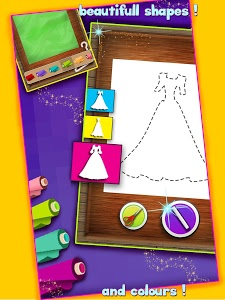 screenshot of Princess Tailor Boutique version 1.5.5