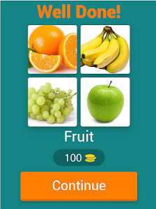 screenshot of Puzzle: 4 Pics 1 Word version 7.6.0z