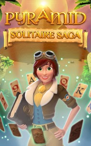 screenshot of Pyramid Solitaire Saga version 1.97.0