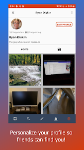 screenshot of Quessure - Questions, answers & meet new friends version 2.7