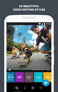 screenshot of Quik – Free Video Editor for photos, clips, music version 5.0.7.4057-000c9d4b4