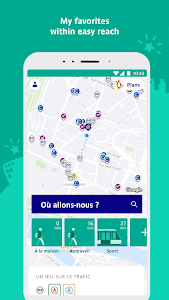 screenshot of RATP - Your daily co-pilot version Varies with device