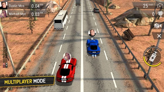 screenshot of Racing Fever version 1.5.7
