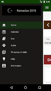 screenshot of Ramadan 2018 version 2.8.1