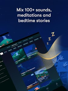 screenshot of Relax Melodies: Sleep Sounds version 7.14