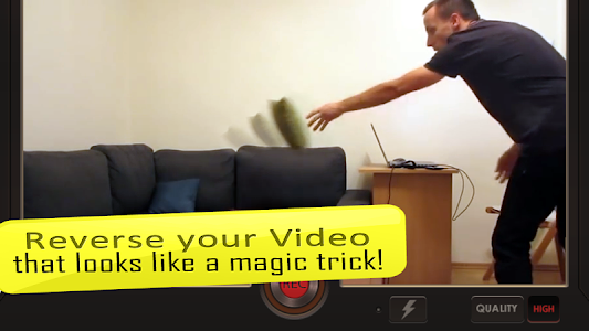screenshot of Reverse Movie FX - magic video version 1.2.4