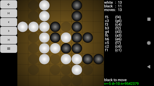 screenshot of Reversi for Android version 2.9.4