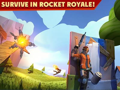 screenshot of Rocket Royale version 1.6.6