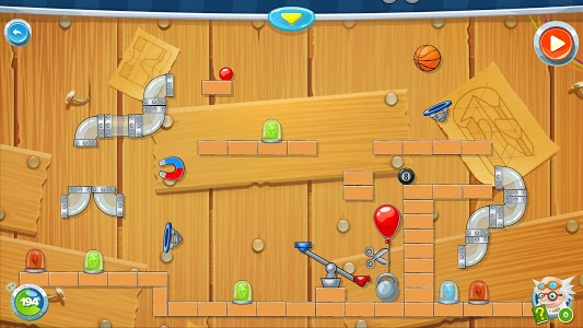 screenshot of Rube's Lab - Physics Puzzle version 1.6.5