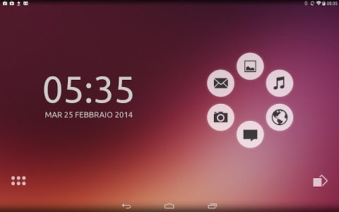 screenshot of Unity Theme for Smart Launcher version 3.16.09