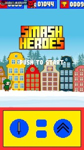 screenshot of SMASH Heroes version 1.0