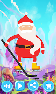 screenshot of Santa Claus Game Skateboarding version 1.0