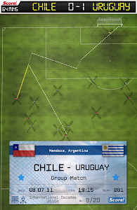 screenshot of Score! World Goals version 2.75