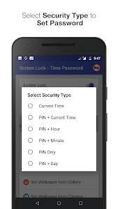 screenshot of Screen Lock - Time Password version 1.9.1
